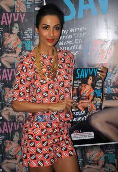 Malaika Arora Khan stuns at Savvy Magazine Unveil