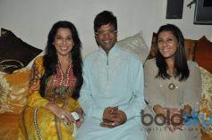 Pooja Bedi & Javed Jaffrey