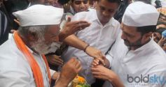 Riteish Deshmukh at Ashadi Ekadashi Function