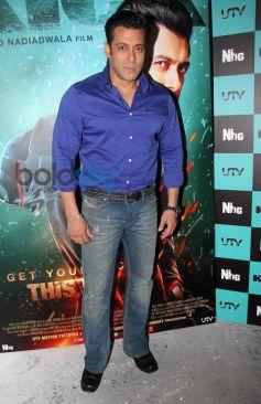 Salman Khan at Kick Film Media Interaction