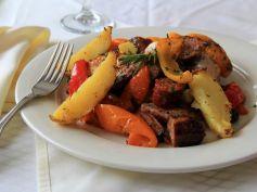 Sausage Pepper Platter