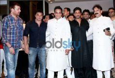 Shahrukh Khan at Baba Siddiqui's Iftaar Party