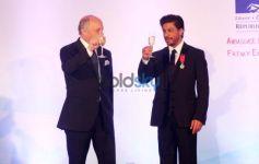 Shahrukh Khan conferred with Chevalier De La Legion D'Honneur
