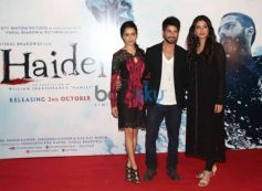 Shraddha Kapoor stuns at Haider Trailor Launch