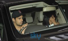 Siddharth Malhotra snapped at Karan Johar House