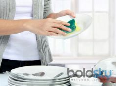 Washing The Utensils
