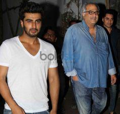 Arjun Kapoor, Boney Kapoor