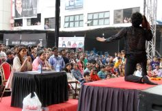 Bipasha Basu promotes Creature 3D