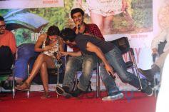 Deepika Padukone, Arjun Kapoor and Homi Adajania