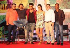 Homi Adajania, Arjun Kapoor and Deepika Padukone