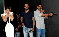 Kareena Kapoor, Ajay Devgan and Rohit Shetty