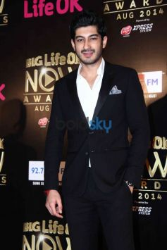 Mohit Marwah at Life ok Awards 2014