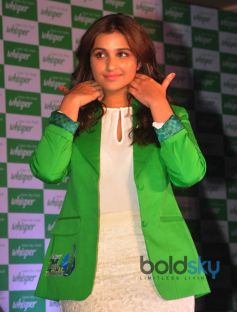 Parineeti Promotes Touch The Pickle Movement