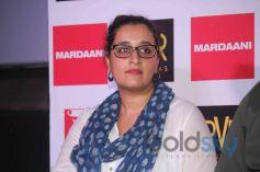 Rani Mukerji Launches the Mardaani Song