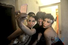 Rohit Verma with Alesia Raut and Diandra