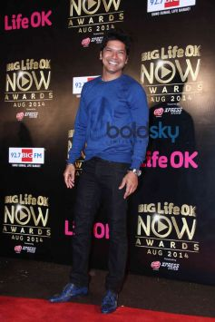 Shaan at Life ok Awards 2014
