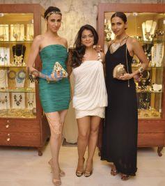 Alesia Raut, Bansri Mehta and Candice Pinto