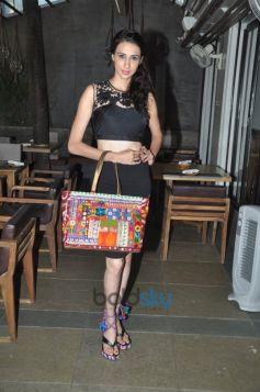 Alesia Raut carrying Priyanka Tejwani bag