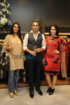 amrish kumar with serena sippy and Rashmi Nigam