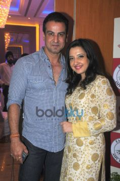 Amy Billimoria And Ronit Roy