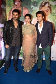 Arjun Kapoor, Deepika Padukone, Ranveer Singh