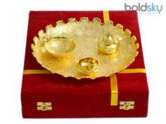 Golden Floured Thali