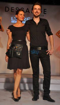Dessange Fashion Show At  Blue Frog