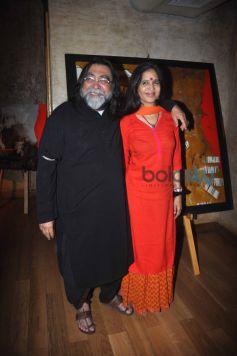 Dia Mirza Launched art exhibition at Le Pain Quotidien