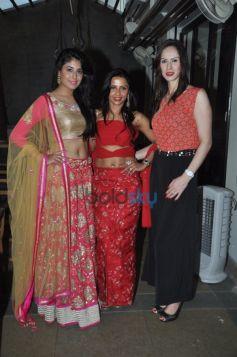 Dimple Nahar with her muse Kritika Kamra and Fallon khan