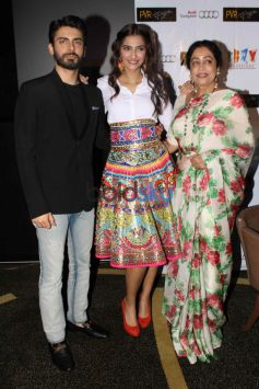 ,Fawad Khan , Kirron Kher & Sonam Kapoor