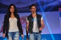 Hrithik Roshan and Katrina Kaif