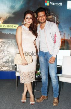 Huma Qureshi And Ritesh Deshmukh