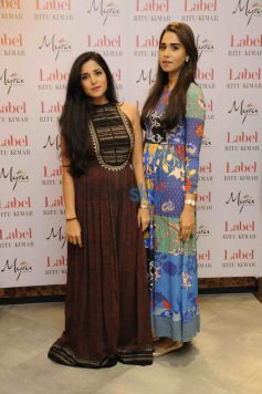 Mitali Sagar And Summiya Patni in Ritu Kumar LABEL