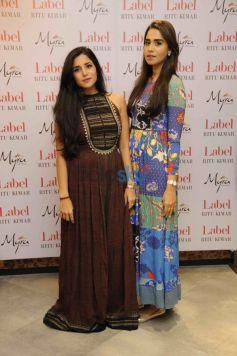 Mitali Sagar And Summiya Patni in Ritu Kumar LABEL