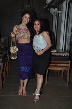 neeta parekh with her muse rashmi nigam
