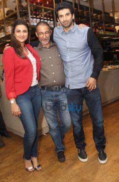 Parineeti Chopra and Aditya Roy Kapur