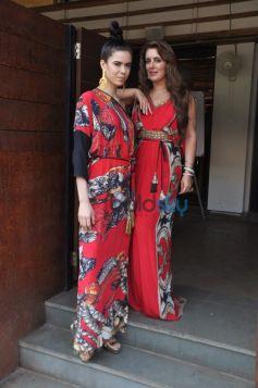 Pria Kataria Puri with muse Sucheta Sharma