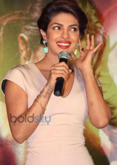 Priyanka Chopra Promotes Mary Kom at New Delhi