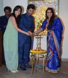 Rani Mukerji Inaugurates Art show An Art Collector's Paradise