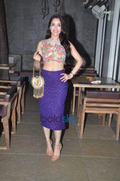 Rashmi Nigam carrying a Neeta Parekh bag