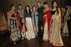 Shyamal & Bhumika with Dia Mirza and models i