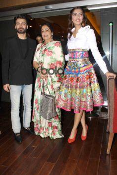 Sonam Kapoor ,Fawad Khan and Kirron Kher