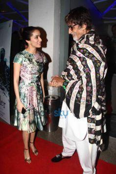 Amitabh Bachchan And Shraddha Kapoor