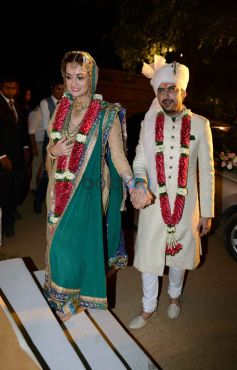 Dia Mirza And Sahil Sangha Wedding Ceremony