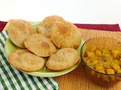 Navratri Recipe Singhare Ki Poori