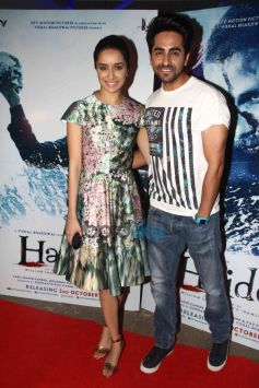 Sharddha Kapoor And Ayushmann khurrana