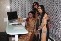 Sushmita Sen at La Piel Dr Trasi's clinic