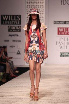 Wills India Fashion Week - Hemant And Nandita