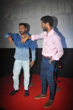 Ajay Devgn And Prabhu Deva