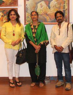 Anannya Baanerjee, Vipta Kapadia and Paramesh Paul